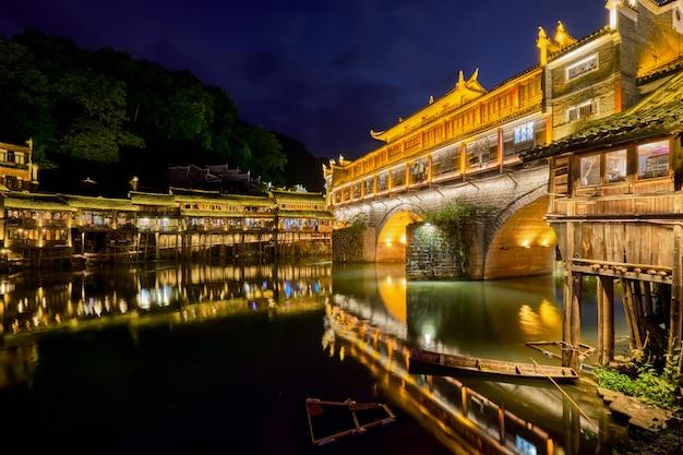 Starożytne miasto feng huang starożytne miasto phoenix, chiny