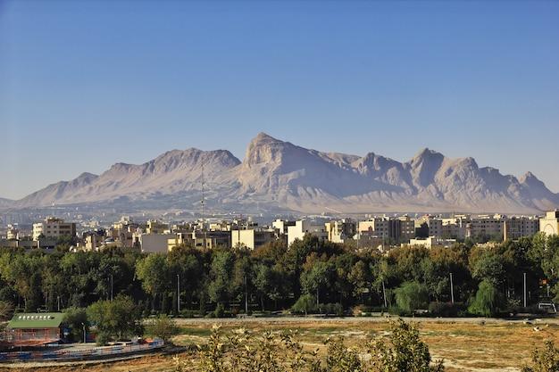 Starożytne miasto isfahan w iranie