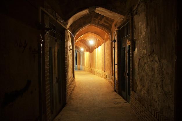 Starożytne miasto kashan w iranie