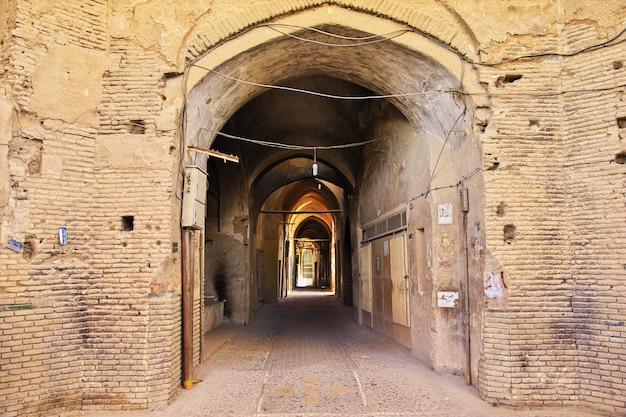 Starożytne miasto yazd w iranie