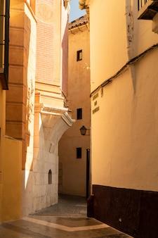 Starożytne ulice malagi