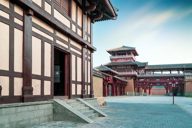 Starożytny park miejski qin i han, guizhou, chiny.