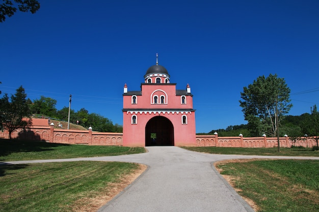 Starożytny prawosławny klasztor krdedol, serbia, bałkany