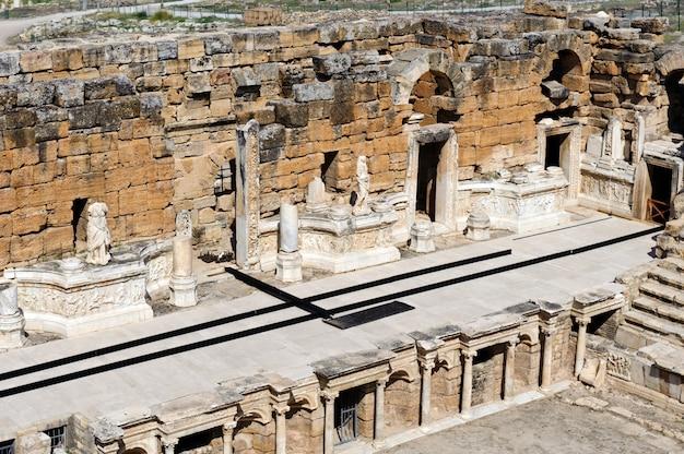 Starożytny teatr w hierapolis