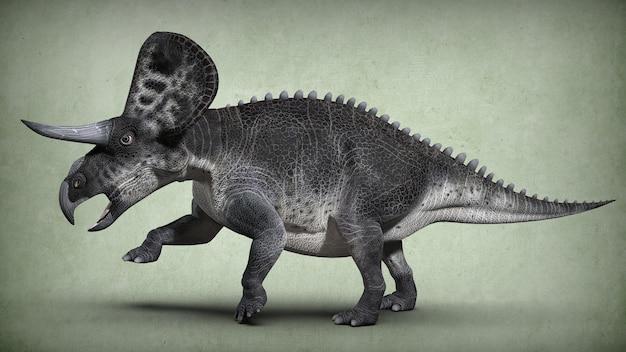 Starożytny wymarły dinozaur. ilustracja 3d