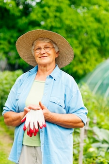 Starszy rolnik
