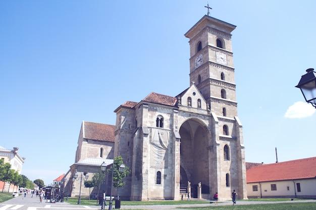Stary 9-ci kościół wieku