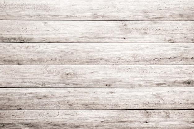 Stary biały drewniany deski tekstury tło