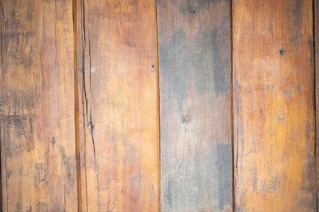 Stary brown drewniany ścienny exture dla rocznika tła