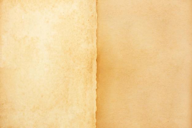 Stary brown papieru tekstury tło.