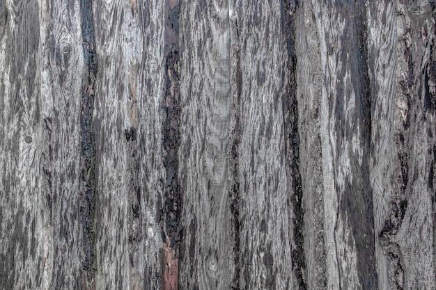 Stary brudny drewniany wallwood backgroundciemnobrązowe tło z desek jako puste miejsce na pocztówkę lub szablon do projektowania układu z miejscem na tekst.