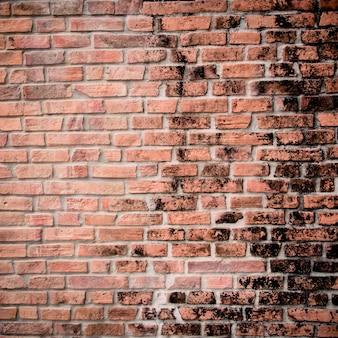 Stary ceglany mur tło