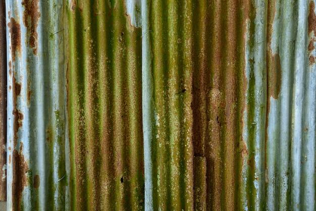 Stary cynk jest rdza na tekstury i tła