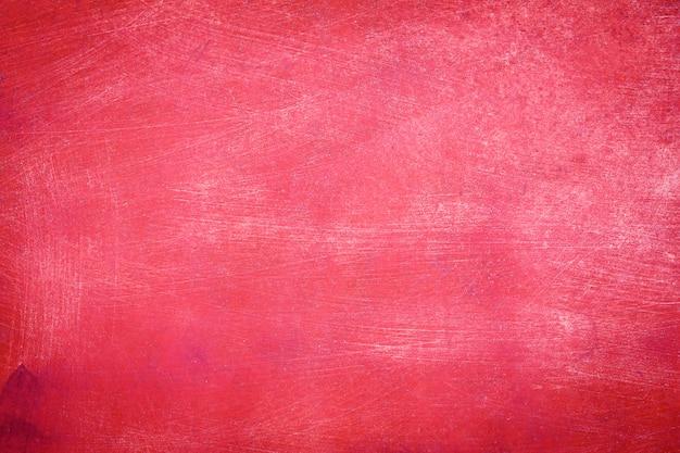 Stary czerwony betonowej ściany tekstury tło