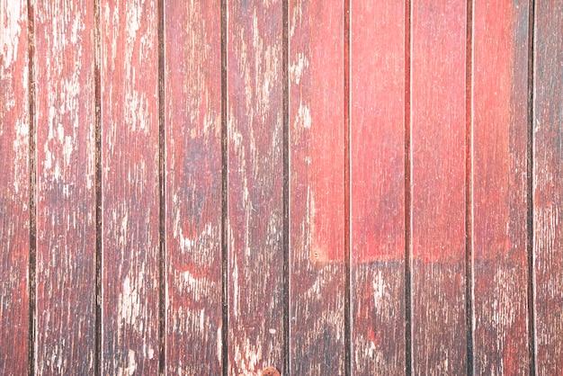 Stary czerwony drewniany tło
