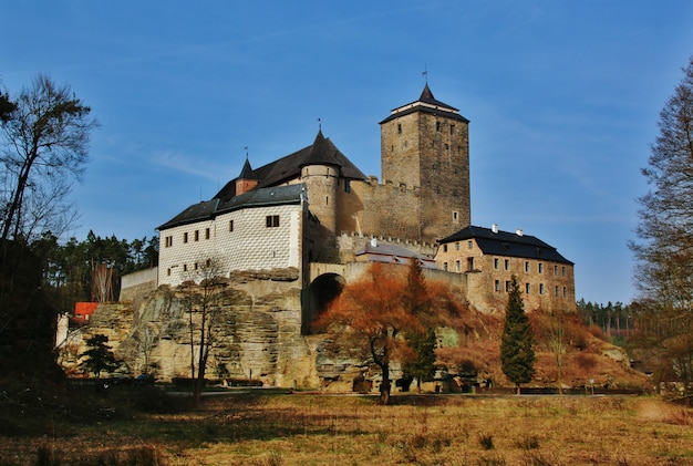 Stary czeski zamek kost