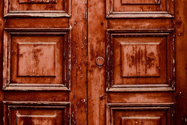 Stary dom drzwi