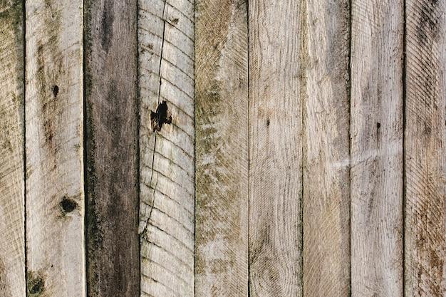 Stary drewniany płot. stare deski tekstury