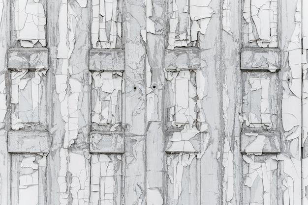 Stary drewniany płot z pęknięty tekstury farby