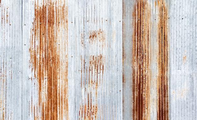 Stary galwanizujący szkotowy tekstury tło