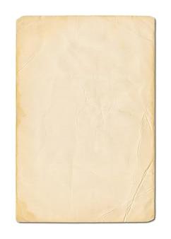 Stary grunge pergaminowy papier tekstury tła