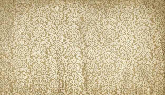 Stary grunge tekstury papieru dekoracyjnego. wzór w stylu vintage