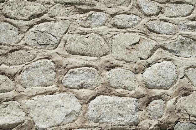 Stary kamiennej ściany tła tekstury zbliżenie