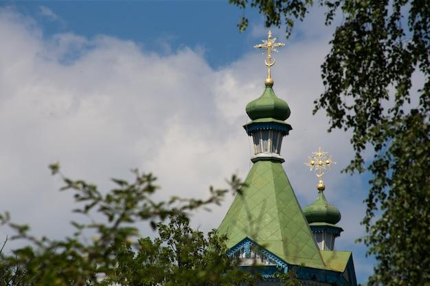 Stary kościół etniczny ukraińców w pereslavlhouse