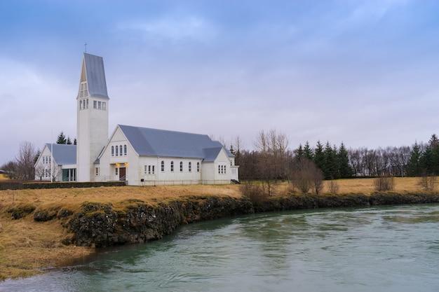 Stary kościół w islandii