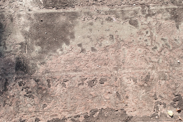 Stary materiał pokrycia dachowego w żywicy