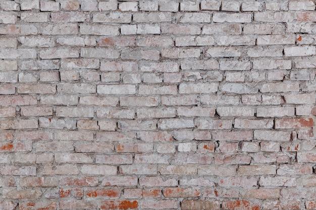 Stary mur z czerwonej cegły w obrazie tła.