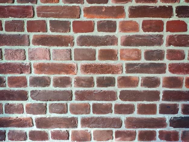 Stary Mur Z Czerwonej Cegły Premium Zdjęcia