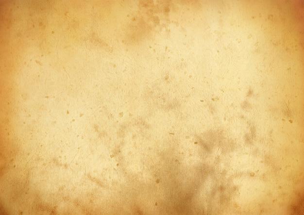 Stary papier pergaminowy grunge tekstury powierzchni