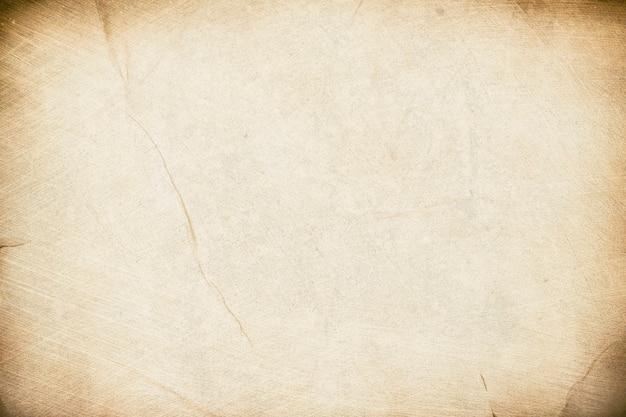Stary papier ziarnisty grunge tekstury tła arkusz papieru tło