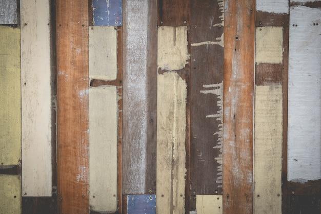 Stary rocznika drewna tło