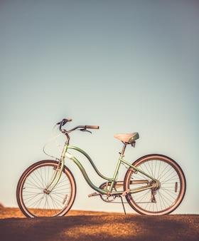 Stary rower retro