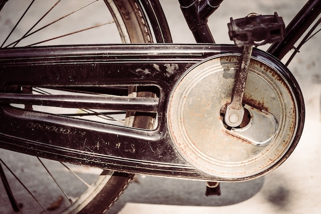 Stary rower zabytkowe