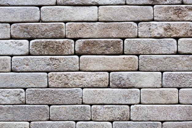 Stary ściana z cegieł tekstury tło