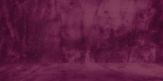 Stary Shabby Betonowa ściana Tekstur Z Pękniętymi Fioletowymi Betonowymi ścianami Studyjnymi Abstrakcyjnymi... Premium Zdjęcia
