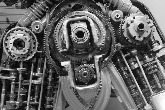 Stary sprzęt i łańcuch