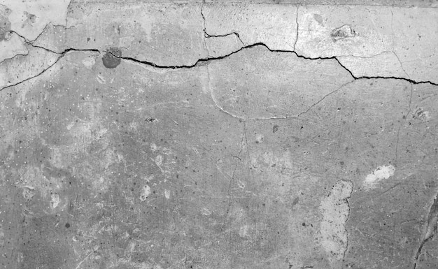 Stary szary betonowy mur
