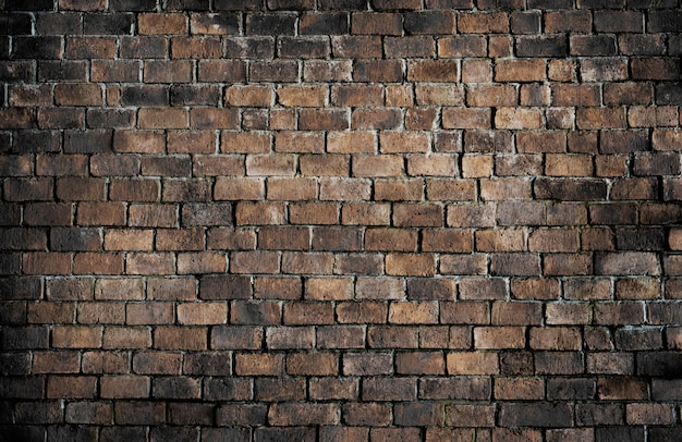 Stary textured ściana z cegieł tło