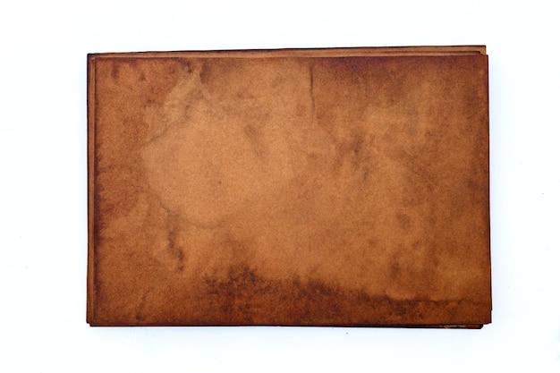 Stary tło grunge brązowego papieru.