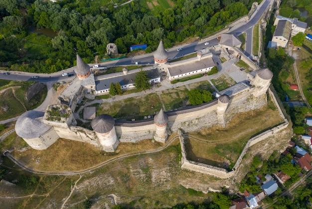 Stary zamek, widok z góry