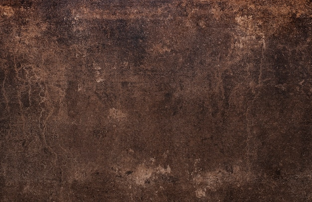 Stary zardzewiały brązowy tło grunge