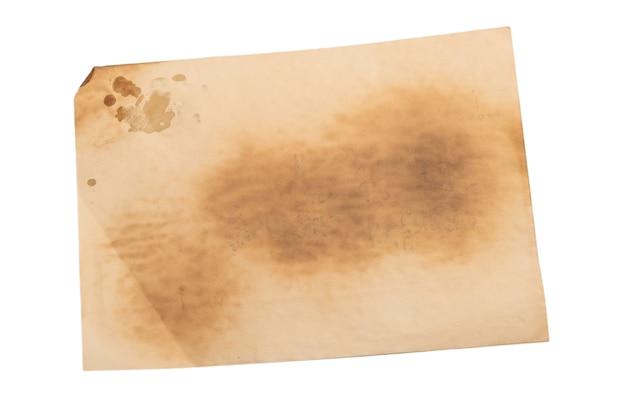 Stary zmięty papier beżowy