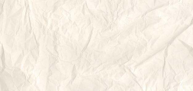 Stary zmięty papier tekstury powierzchni