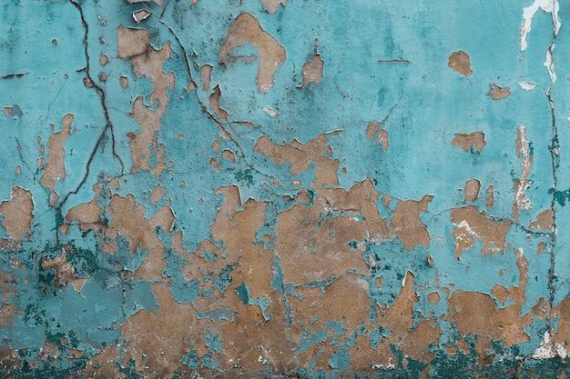 Stary zużyte tło ściany z farbą oderwanie grunge tekstury budynku