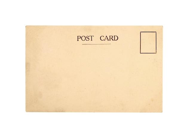Starych kartek pocztowych