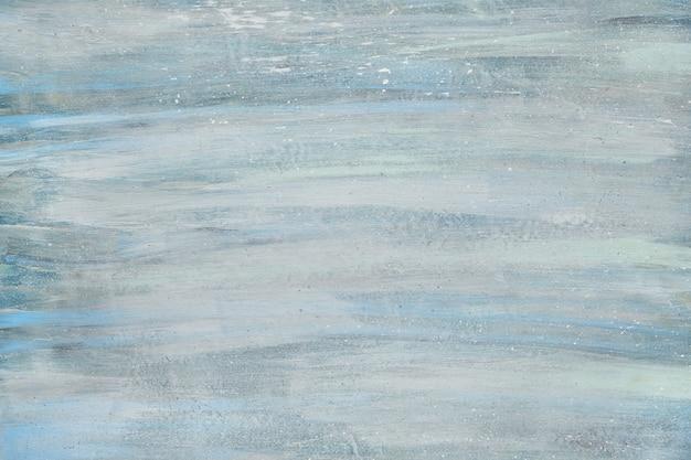 Starzejąca się lekka konsystencja w odcieniach niebieskiego, białego i zielonkawego z popękaną farbą, kopia przestrzeń